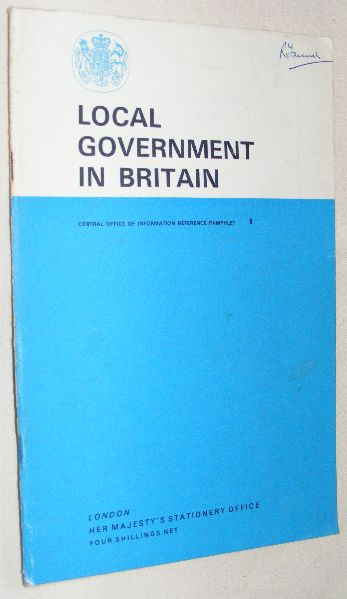 Image for Local Government in Britain (Central Office of Information Reference Pamphlet no.1)