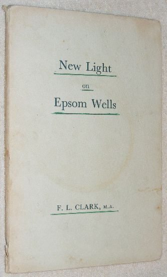 Image for New Light on Epsom Wells