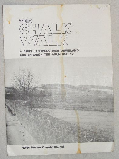 Image for The Chalk Walk: a circular walk over downland and through the Arun valley