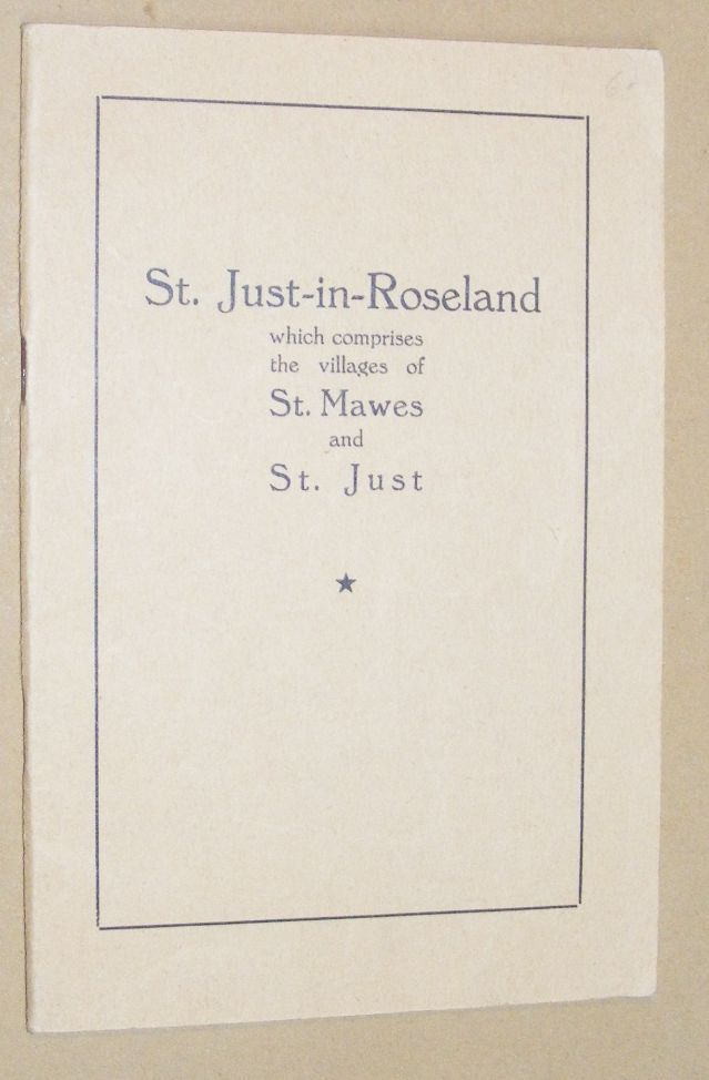 Image for St. Just-in-Roseland, which comprises the villages of St. Mawes and St. Just