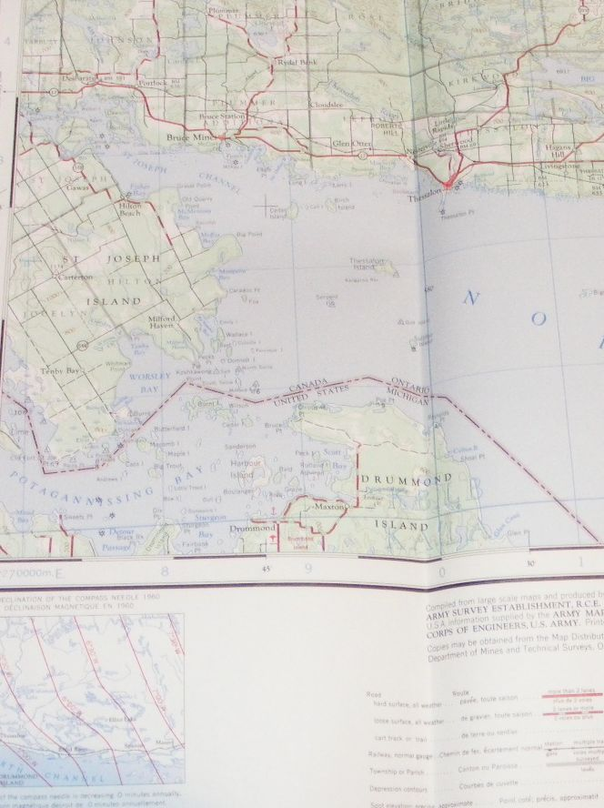 Image for Blind River, Canada - United States, Map Sheet 41J, 1:250000