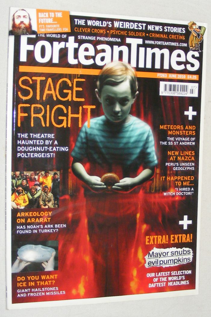 Image for Fortean Times 263 June 2010