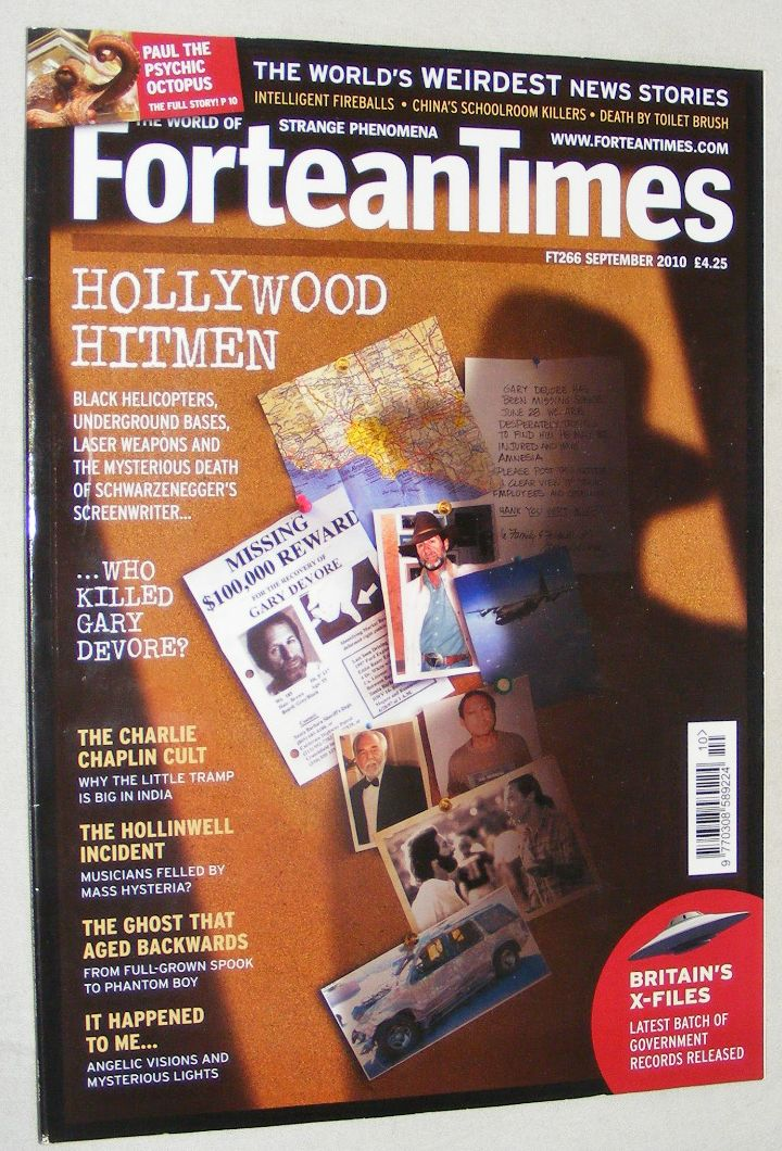 Image for Fortean Times 266 September 2010
