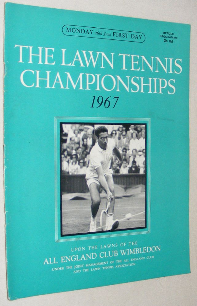 Image for The Lawn Tennis Championships 1976, Friday 2nd July, Eleventh Day Official Programme