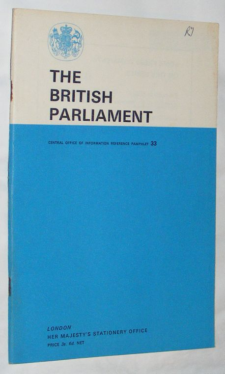 Image for The British Parliament (Central Office of Information Reference Pamphlet 33)