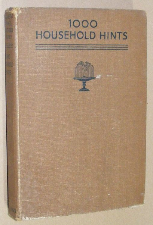 Image for 1000 Household Hints: attractive, money-saving hints & wrinkles arranged for immediate reference (Elizabeth Craig's Household Library)