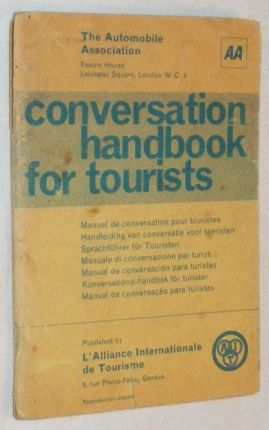 Image for Conversation Handbook for Tourists