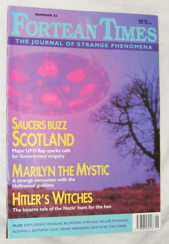 Image for Fortean Times 81 June-July 1995