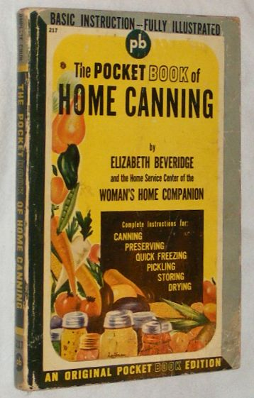 Image for The Pocket Book of Home Canning