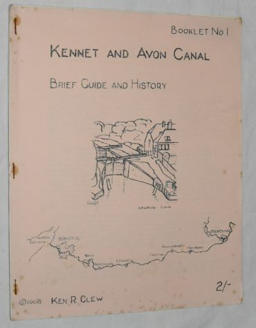 Image for Kennet and Avon Canal: Brief Guide and History (Booklet No.1)