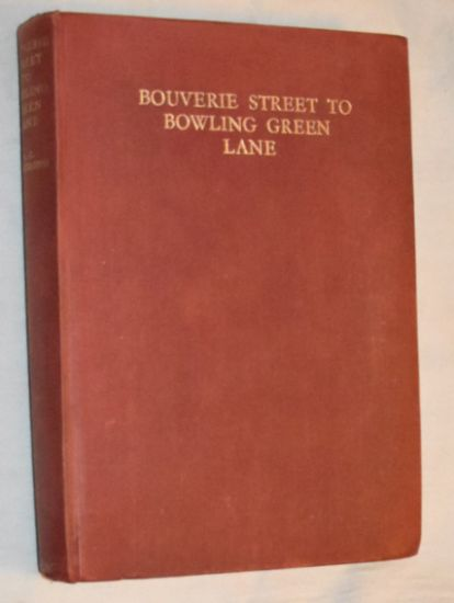 Image for Bouverie Street to Bowling Green Lane: fifty-five years of specialized publishing