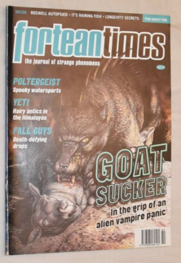 Image for Fortean Times 189 August 1996