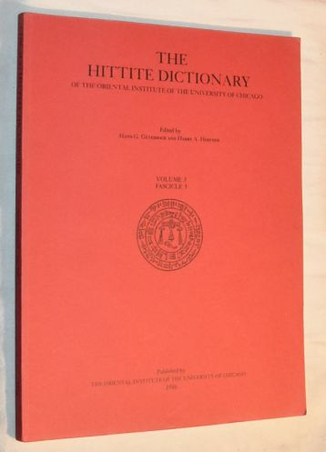 Image for Hittite Dictionary of the Oriental Institute of the University of Chicago: Volume 3 L-N, Fascicle 3