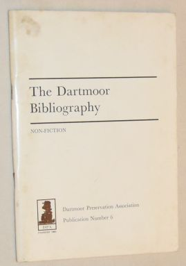 Image for Dartmoor Bibliography 1970: Non-fiction