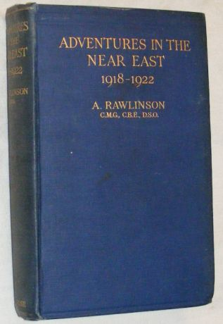 Image for Adventures in the Near East 1918 - 1922