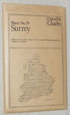 Image for Dorking: Sheet 79, reprint of the first edition of the one-inch Ordnance Survey of England and Wales
