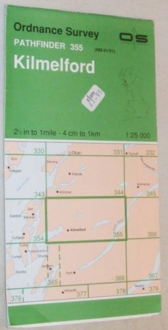 Image for Kilmelford Pathfinder Map Sheet 355 (NM 81/91)