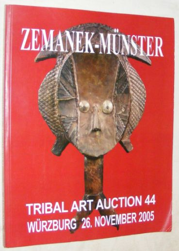 Image for Zemanek-Münster 44. Tribal-Art-Auktion (150. Auktion) 26 November 2005
