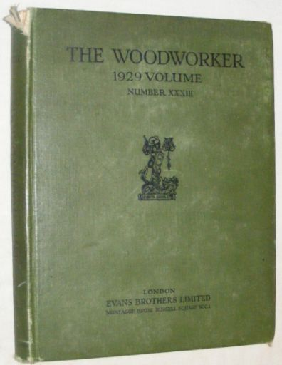 Image for The Woodworker 1929 Volume XXXIII [33]