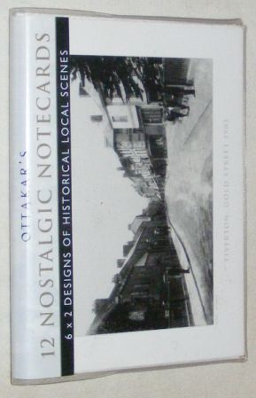 Image for 12 Nostalgic Notecards, 6x2 Designs of Historical Local Scenes: Tiverton, Gold Street 1903 & Castle Street 1920