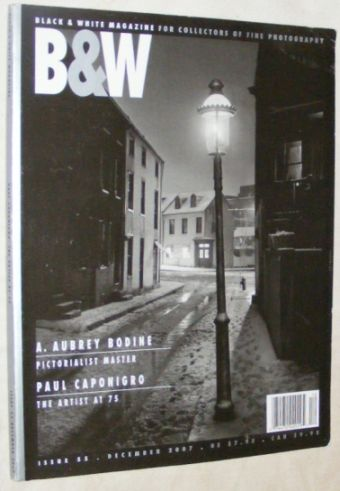 Image for Black and White Magazine Vol.9 Issue 55, December 2007