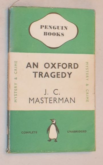 Image for An Oxford Tragedy
