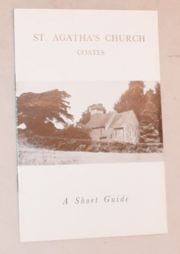Image for St Agatha's Church, Coates: a short guide