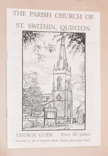 Image for The Parish Church of St Swithin, Quinton: church guide