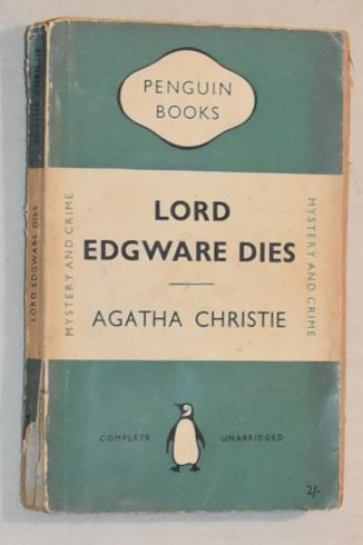 Image for Lord Edgware Dies