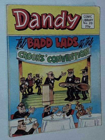 Image for Dandy Comic Library No.20: The Badd Lads at the Crooks' Convention