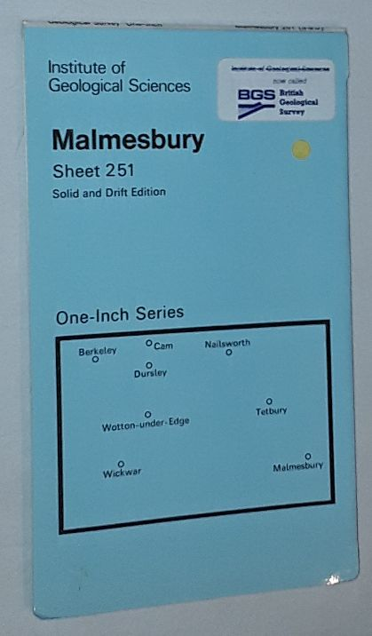 Image for Malmesbury. Sheet 251, Solid & Drift Edition, Geological Map One-Inch Series