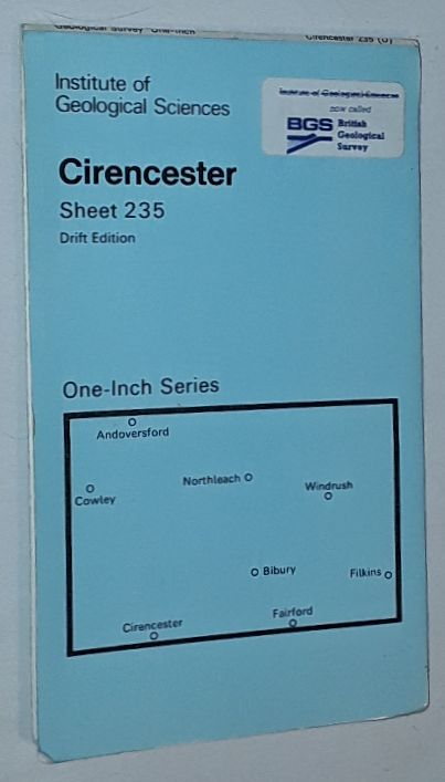 Image for Cirencester. Sheet 235, Drift Edition, Geological Map One-Inch Series