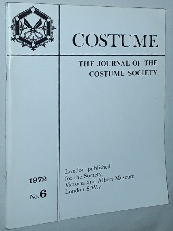 Image for Costume: the Journal of the Costume Society. No 6 1972