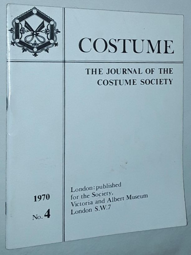 Image for Costume: the Journal of the Costume Society. No 4 1970