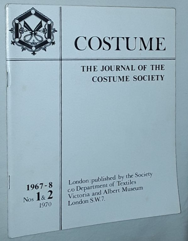 Image for Costume: the Journal of the Costume Society. No 1 & 2 1967-8