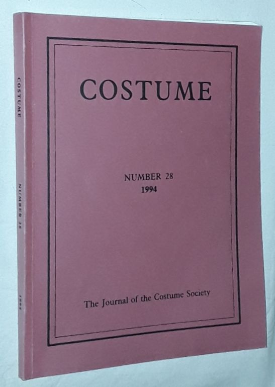 Image for Costume: the Journal of the Costume Society. No 28 1994