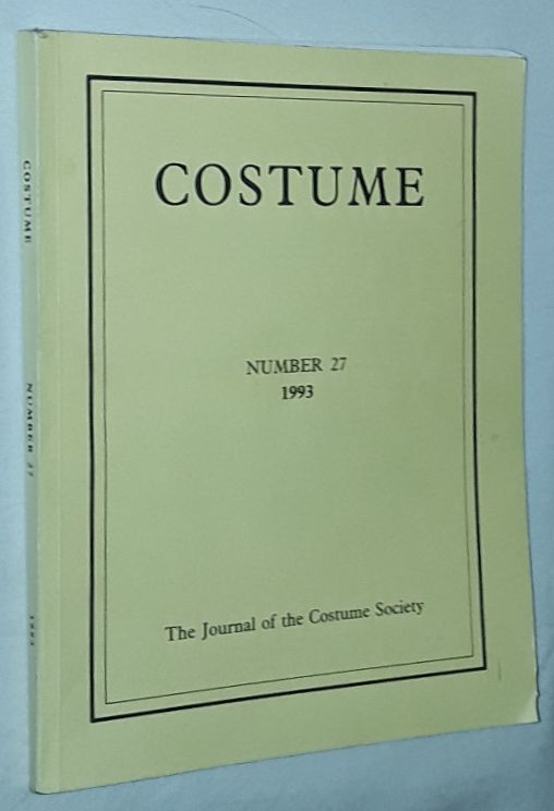 Image for Costume: the Journal of the Costume Society. No 27 1993