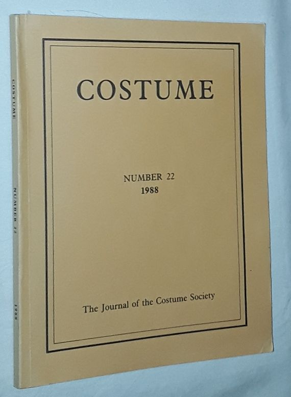 Image for Costume: the Journal of the Costume Society. No 22 1988