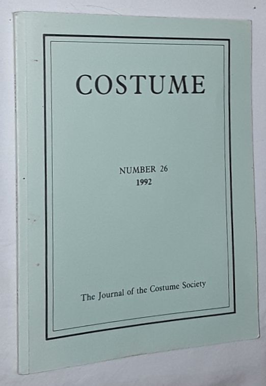 Image for Costume: the Journal of the Costume Society. No 26 1992