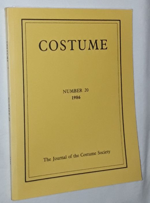 Image for Costume: the Journal of the Costume Society. No 20 1986
