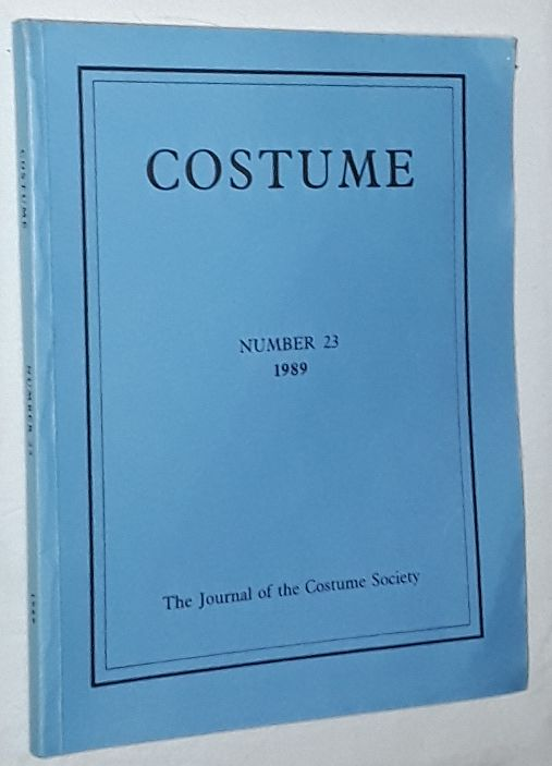 Image for Costume: the Journal of the Costume Society. No 23 1989