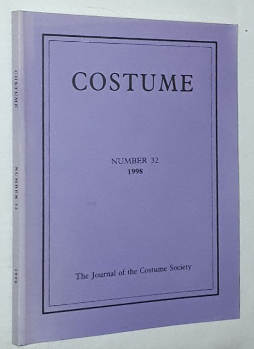 Image for Costume: the Journal of the Costume Society. No 32 1998