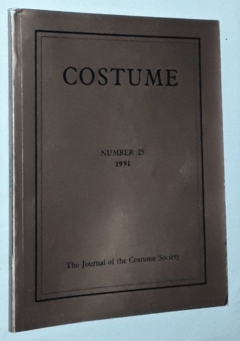 Image for Costume: the Journal of the Costume Society. No 25 1991