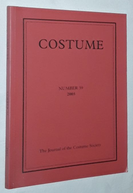 Image for Costume: the Journal of the Costume Society. No 39 2005