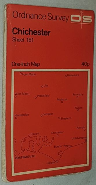 Image for Chichester. Sheet 181 One-inch Map Seventh Series