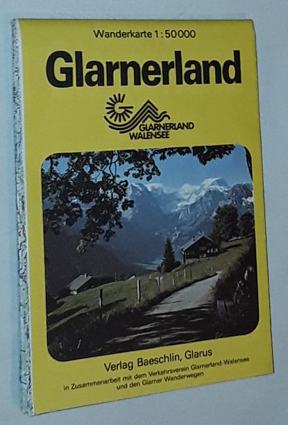 Image for Glarnerland Wanderkarte 1:50000