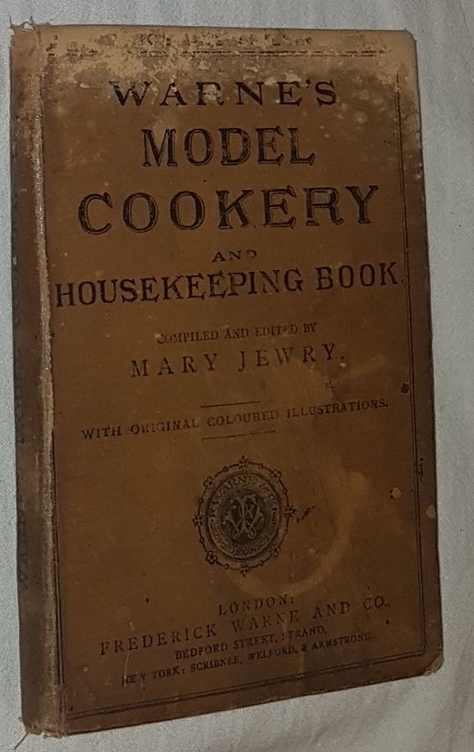 Image for Warne's Model Cookery and Housekeeping Book containing complete instructions in household management