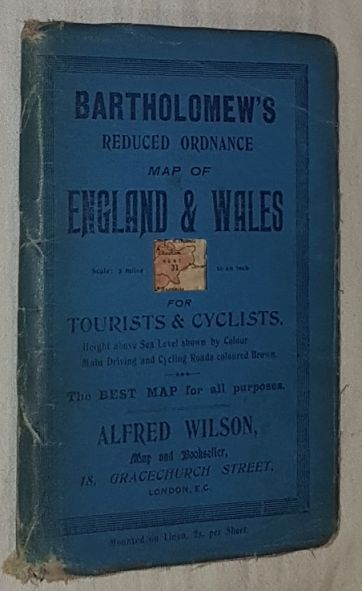 Image for Kent, Sheet 31, Bartholomew's Reduced Ordnance Map of England & Wales for Tourists & Cyclists. 2 miles to 1 inch