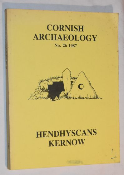 Image for Cornish Archaeology No.26 1987
