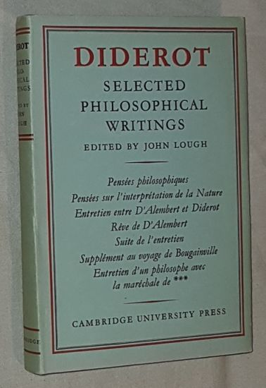 Image for Diderot. Selected philosophical writings